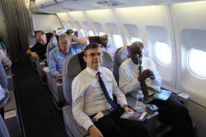 Aïdara Abdoulaye, consul de Côte d'Ivoire en France et Antoine Huet, DG adjoint de Corsair (HD/DR)
