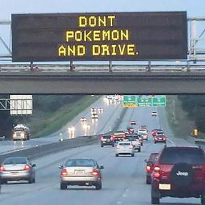 dont-pokemon-and-drive-road-sign