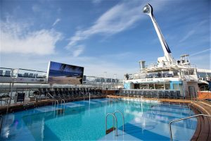 Royal Caribbean International launches Quantum of the Seas, the newest ship in the fleet, in November 2014. The North Star