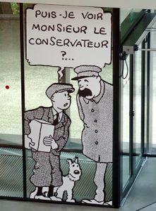 Le Musée Hergé, à Louvain-la-Neuve. Photos ©Serge Abel-Normandin