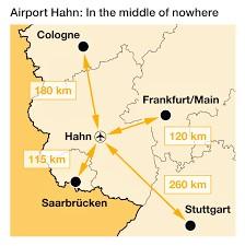 Frankfurt Hahn map