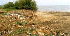 GNF_Deposit of solid waste at Lake Tanganyika in Bujumbura