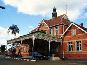 Gare de Pietermaritzburg. C'est ici que Ghandi, alors jeune avocat, fut éjecté du train car il voyageait en 1ère classe réservée aux seuls blancs. Photo ©Hervé Ducruet