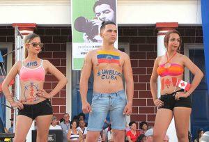 « Unblock Cuba! »: le slogan de l'heure, portée avec fierté par les jeunes générations. Photo ©Isabelle Chagnon