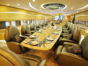 Voyage en Jet prive Airbus A380 du Prince Alwaleed Bin Talal 03