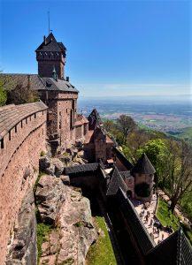 Le château du Haut-Koenigsbourg, véritable sentinelle sur la c