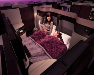Qatar-Airways nouvelle business 1
