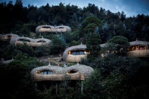 Bisate Lodge, Wilderness Safari, Rwanda PHOTOGRAPHER: David Crookes