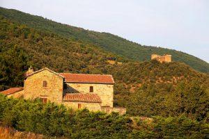 Aujac et son château (Gard) ©Hervé Ducruet
