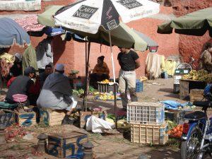 Marché à Marrakech ©Hervé Ducruet