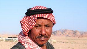 Bédouin dans le Wadi Rum ©Hervé Ducruet