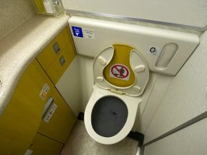 toilettes d'avion