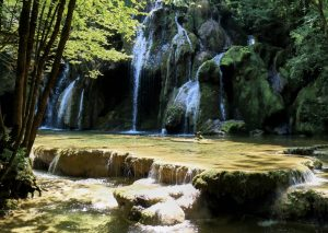 A proximité de la reculée des Planches, la cascade des Tufs fait partie d'un environnement naturel foisonnant.