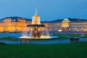 Neues Schloss, Schlossplatz, Stuttgart