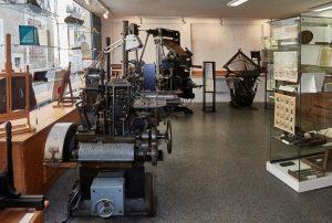 : Le musée du Livre et des Arts graphiques ou comment revivre les heures de gloire de l'imprimerie.