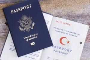 passeports turc et US