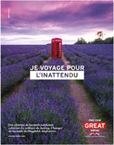 VisitBritain lance sa campagne de promotion 2018