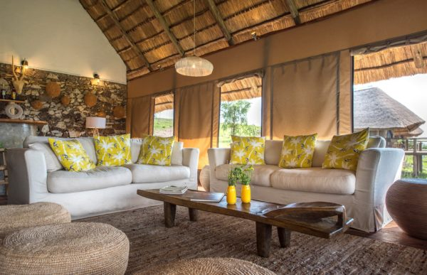 Inauguration de huit nouvelles tentes de luxe dans le camp Mara River Post, en Tanzanie