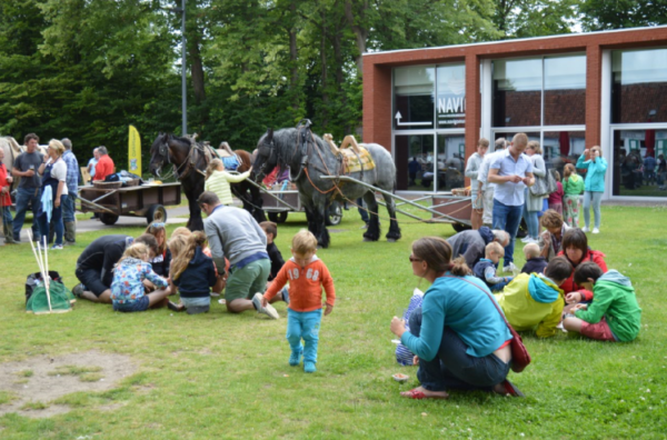 «Zilt Feest» au musée Navigo, avec les pêcheurs de crevettes, à cheval