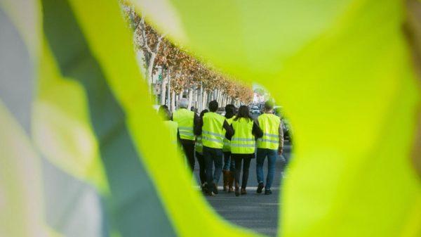 En France, une fin d'année en jaune…