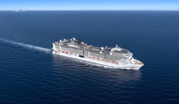 MSC Croisières célèbre la mise à flot du MSC Grandiosa