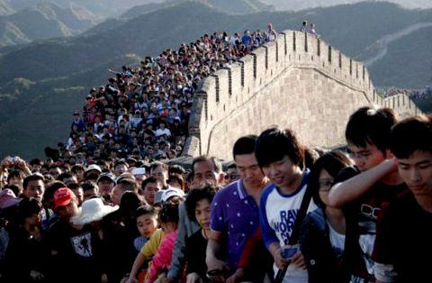 L'Asie, les trois quarts des arrivées étrangères