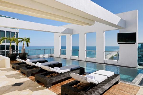 5* décernées à The Setai Miami Beach dans le classement 2019 du Forbes Travel Guide