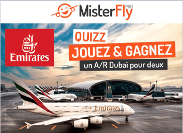 MisterFly & Emirates s'allient