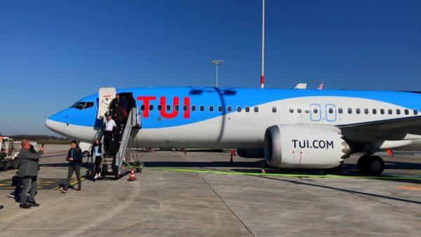 TUI maintient en opération ses Boeing 737 Max 8