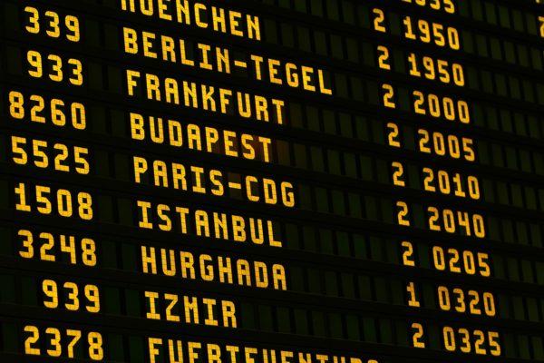 Des vols de moins en moins à l'heure !