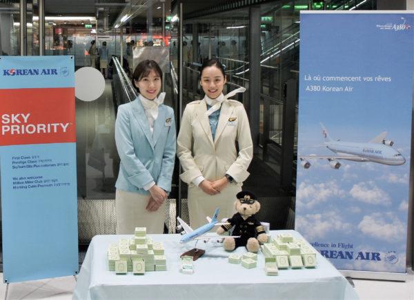 Excellence et gourmandise le 1er mars pour l'anniversaire de Korean Air !