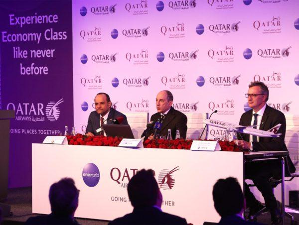 Qatar Airways dévoile sa nouvelle cabine Économique et sept nouvelles destinations à l'ITB Berlin 2019
