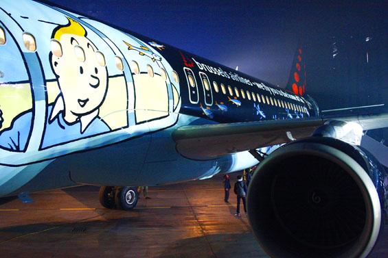 """Résultat de recherche d'images pour """"tintin brussels airlines pagtour"""""""