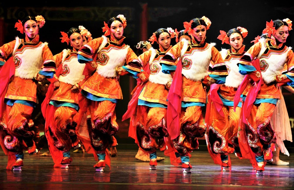 Rencontre Chine spectacle