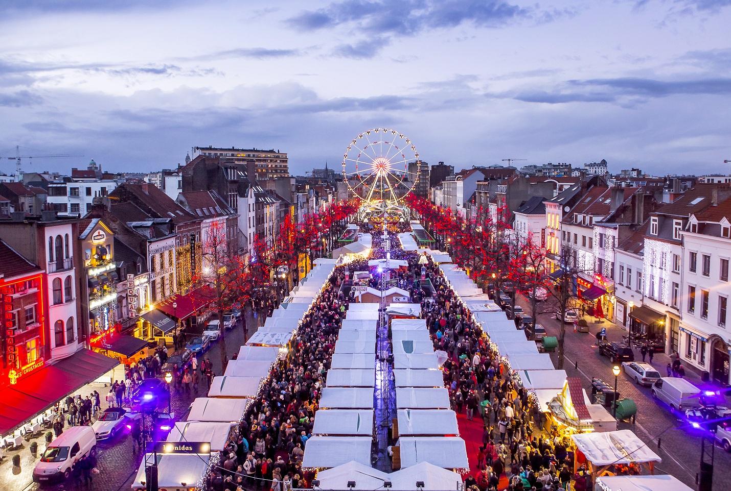Marche De Noel Bruxelle Plaisirs d'Hiver à Bruxelles : circulez, y a rien à voir | Pagtour