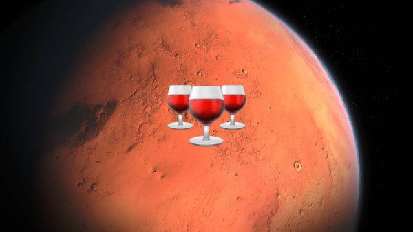 La Géorgie veut faire du vin... sur Mars!