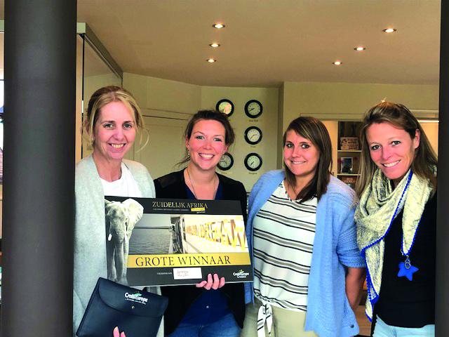 L'agence Jempi Lochristie a remporté le challenge Afrique Australe By CroisiEurope