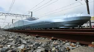 Le futur TGV japonais, à 400 km/h