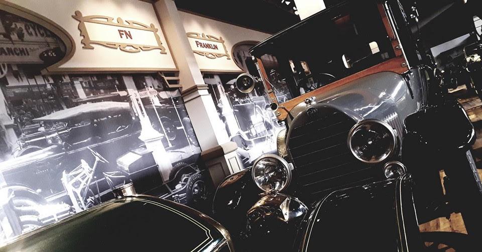 Salon 1910... La nouvelle zone historique d'Autoworld