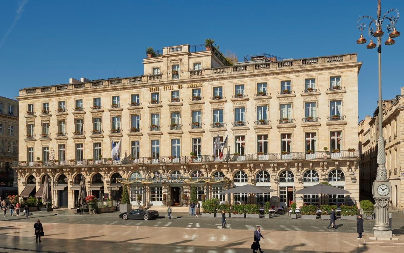 L'Intercontinental Bordeaux – Le Grand Hôtel élu meilleur hôtel de France 2019