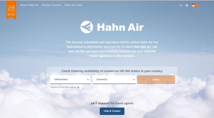 Huit compagnies rejoignent Hahn Air