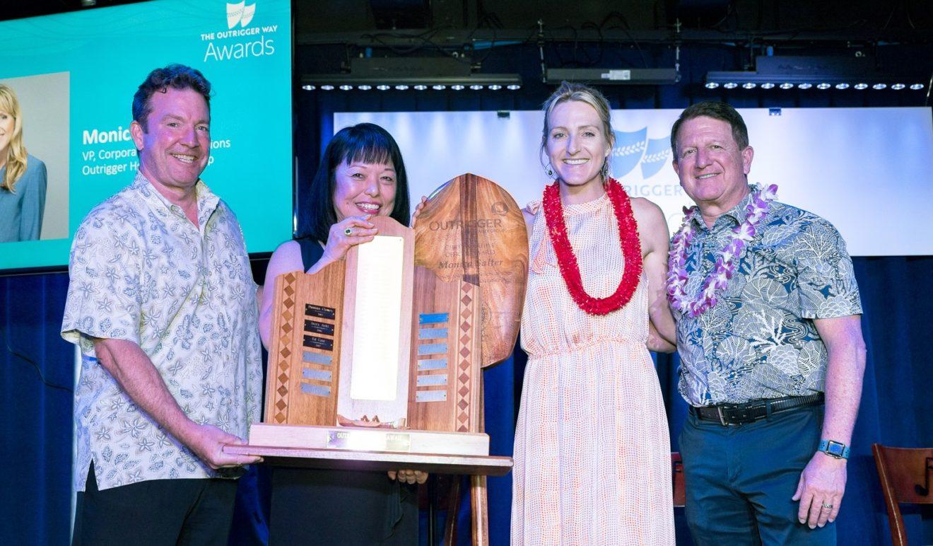 Outrigger Hospitality Group récompense  ses hôtes d'exception et ses propriétés originales